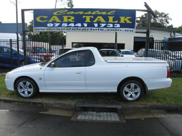 Used Holden Commodore VY S Nambour, 2002 Holden Commodore VY S White 4 Speed Automatic Utility