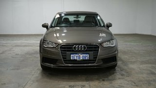 2015 Audi A3 8V MY15 Attraction S Tronic Bronze 7 Speed Sports Automatic Dual Clutch Sedan