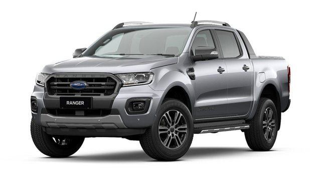 New Ford Ranger PX MkIII 2021.25MY Wildtrak Tanunda, 2021 Ford Ranger PX MkIII 2021.25MY Wildtrak Aluminium Silver 10 Speed Sports Automatic
