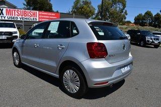 2014 Volkswagen Polo 6R MY15 66TSI Trendline Billet Silver 5 Speed Manual Hatchback.