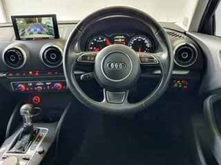 2015 Audi A3 8V MY15 Ambition S Tronic White 7 Speed Sports Automatic Dual Clutch Sedan