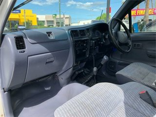 1997 Toyota Hilux LN167R White 5 Speed Manual Cab Chassis