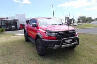 2018 Ford Ranger PX MkIII 2019.00MY Raptor Red 10 Speed Sports Automatic Utility.