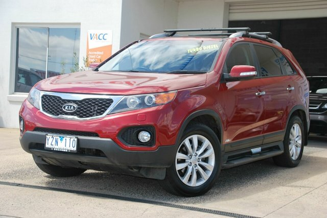 Used Kia Sorento XM MY12 Platinum (4x4) Wendouree, 2012 Kia Sorento XM MY12 Platinum (4x4) Red 6 Speed Automatic Wagon
