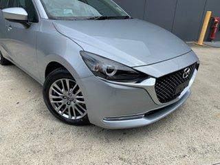 2020 Mazda 2 DJ2HAA G15 SKYACTIV-Drive Evolve Sonic Silver 6 Speed Sports Automatic Hatchback.
