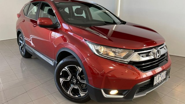 Used Honda CR-V RW MY18 VTi-L FWD Deer Park, 2017 Honda CR-V RW MY18 VTi-L FWD Red 1 Speed Constant Variable Wagon