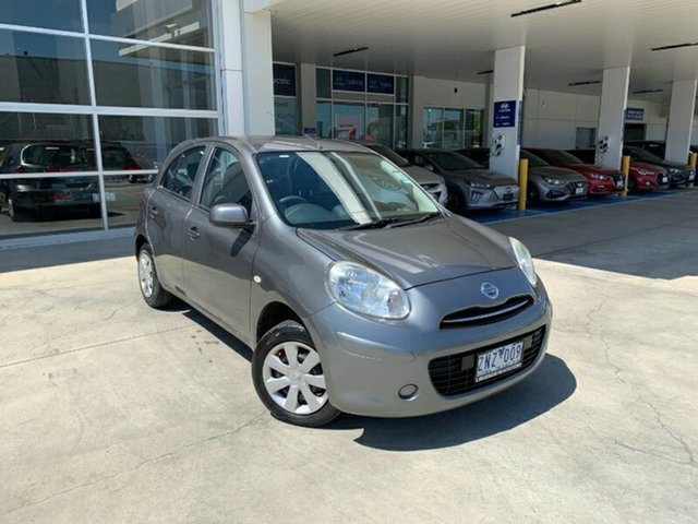 Used Nissan Micra K13 MY13 ST Ravenhall, 2013 Nissan Micra K13 MY13 ST Grey 4 Speed Automatic Hatchback