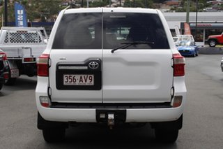 2013 Toyota Landcruiser VDJ200R MY12 GX White 6 Speed Sports Automatic Wagon