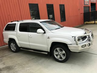 2012 Volkswagen Amarok 2H MY12.5 TDI420 4Motion Perm Ultimate White 8 Speed Automatic Utility