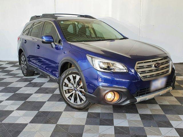 Used Subaru Outback B6A MY17 2.5i CVT AWD Victoria Park, 2017 Subaru Outback B6A MY17 2.5i CVT AWD Blue 6 Speed Constant Variable Wagon