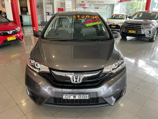 2016 Honda Jazz GF MY16 VTi Grey 1 Speed Constant Variable Hatchback.