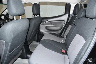 2016 Mitsubishi Triton MQ MY17 GLX+ Double Cab Black 5 Speed Sports Automatic Utility