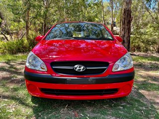 2009 Hyundai Getz TB MY09 S Hip Hop Red 4 Speed Automatic Hatchback.