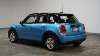 2017 Mini Hatch F55 Cooper Electric Blue 6 Speed Automatic Hatchback.
