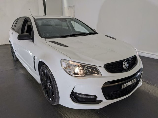 Used Holden Commodore VF II MY17 SS V Sportwagon Redline Maryville, 2017 Holden Commodore VF II MY17 SS V Sportwagon Redline White 6 Speed Sports Automatic Wagon