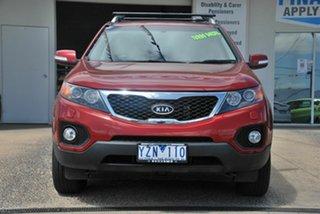 2012 Kia Sorento XM MY12 Platinum (4x4) Red 6 Speed Automatic Wagon.