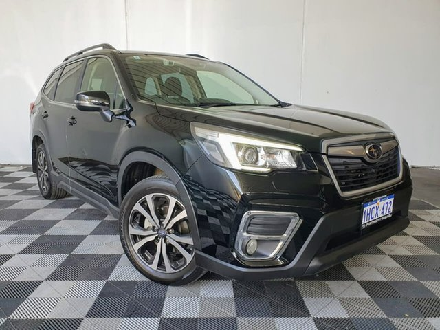 Used Subaru Forester S5 MY20 2.5i Premium CVT AWD Victoria Park, 2020 Subaru Forester S5 MY20 2.5i Premium CVT AWD Black 7 Speed Constant Variable Wagon