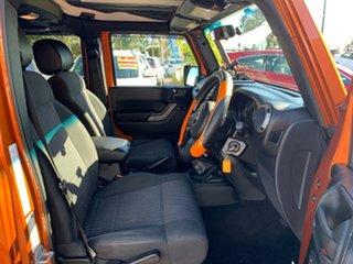 2011 Jeep Wrangler JK MY2011 Unlimited Sport Orange 6 Speed Manual Softtop