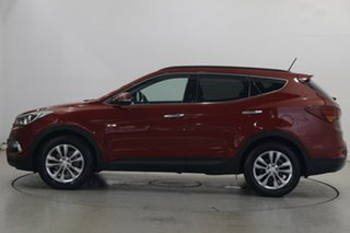 2016 Hyundai Santa Fe DM3 MY17 Elite Red 6 Speed Sports Automatic Wagon.