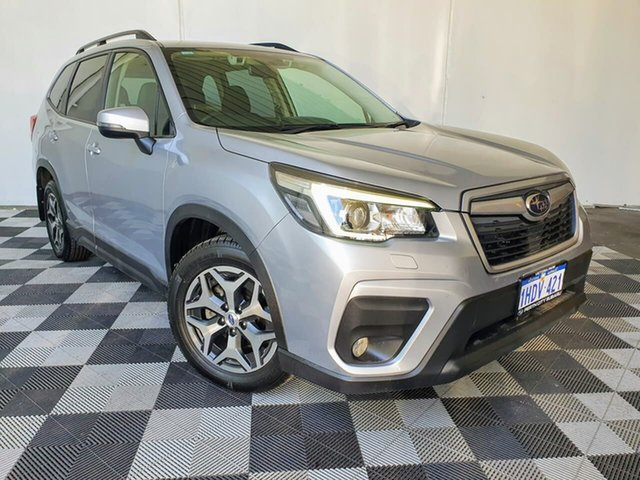 Used Subaru Forester S5 MY19 2.5i CVT AWD Victoria Park, 2019 Subaru Forester S5 MY19 2.5i CVT AWD Silver 7 Speed Constant Variable Wagon
