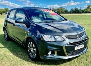 2017 Holden Barina TM MY17 LS Grey 6 Speed Automatic Hatchback.