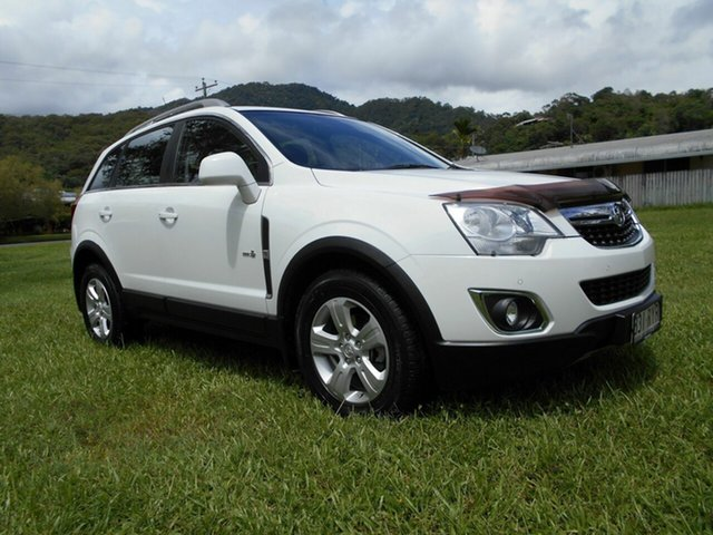 Used Holden Captiva CG Series II 5 (4x4) Bungalow, 2011 Holden Captiva CG Series II 5 (4x4) White 6 Speed Automatic Wagon
