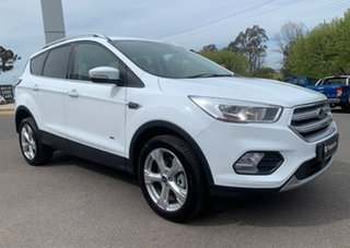 2019 Ford Escape Trend Frozen White Sports Automatic SUV.