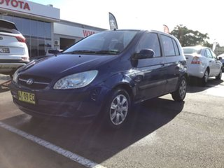 2005 Hyundai Getz TB MY06 Blue 5 Speed Manual Hatchback.