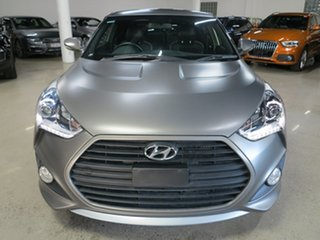 2015 Hyundai Veloster FS4 Series II SR Coupe D-CT Turbo + Grey 7 Speed Sports Automatic Dual Clutch