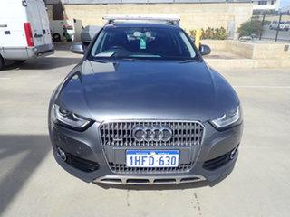 2014 Audi A4 B8 (8K) MY14 Allroad Quattro LE Alpine Grey 7 Speed Auto Direct Shift Wagon.