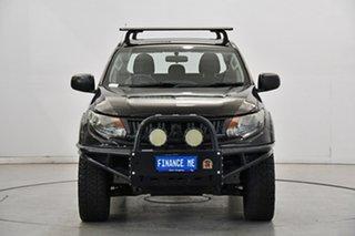 2016 Mitsubishi Triton MQ MY17 GLX+ Double Cab Black 5 Speed Sports Automatic Utility.