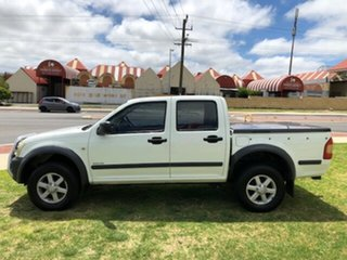 2003 Holden Rodeo RA LX Crew Cab 4x2 White 5 Speed Manual Utility