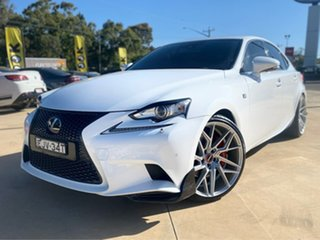 2014 Lexus IS IS350 - F Sport White Sports Automatic Sedan.