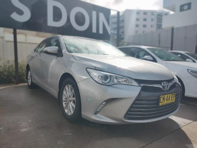 Used Toyota Camry Altise Goulburn, 2017 Toyota Camry Altise Silver Sports Automatic Sedan
