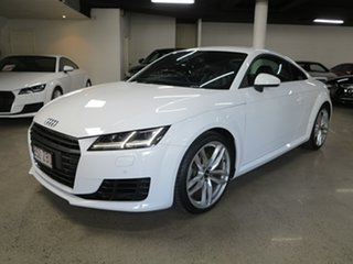 2015 Audi TT FV MY15 S Line S Tronic White 6 Speed Sports Automatic Dual Clutch Coupe.