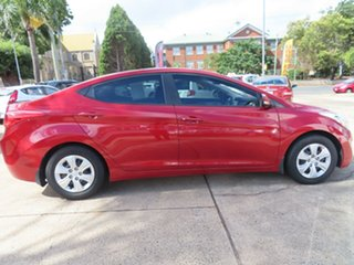 2011 Hyundai Elantra Active Red 6 Speed Manual Sedan.
