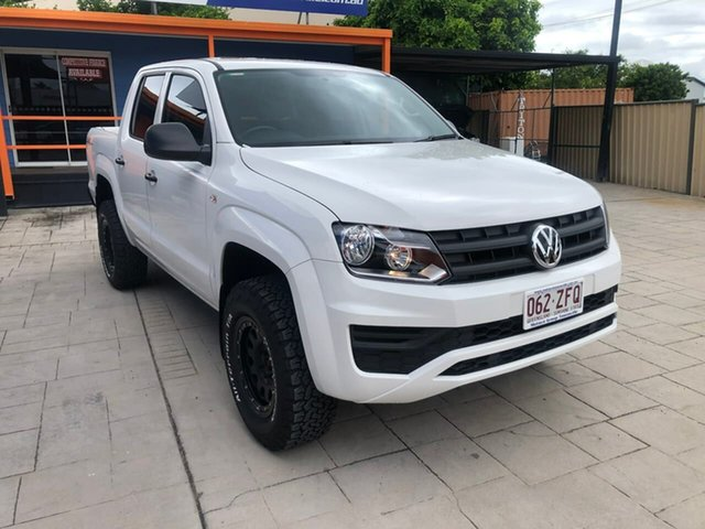Used Volkswagen Amarok 2H MY20 TDI420 4MOTION Perm Core Mundingburra, 2019 Volkswagen Amarok 2H MY20 TDI420 4MOTION Perm Core White 8 Speed Automatic Utility