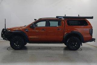 2012 Ford Ranger PX Wildtrak Double Cab Orange 6 Speed Manual Utility.