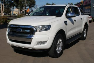 2015 Ford Ranger PX MkII XLT 3.2 (4x4) White 6 Speed Automatic Dual Cab Utility