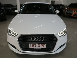 2017 Audi A3 8V MY17 Sportback S Tronic White 7 Speed Sports Automatic Dual Clutch Hatchback