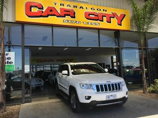 2012 Jeep Grand Cherokee WK Limited (4x4) White 5 Speed Automatic Wagon.