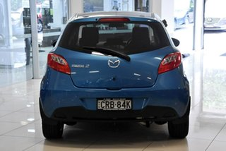 2013 Mazda 2 DE10Y2 MY14 Neo Sport Blue 4 Speed Automatic Hatchback