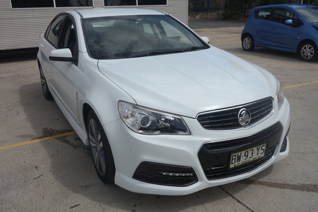 Used Holden Commodore VF MY14 SV6 Maryville, 2013 Holden Commodore VF MY14 SV6 White 6 Speed Sports Automatic Sedan