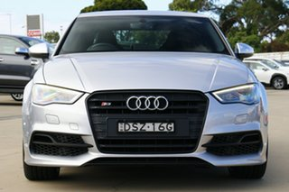 2015 Audi S3 8V MY15 S Tronic Quattro Silver 6 Speed Sports Automatic Dual Clutch Sedan