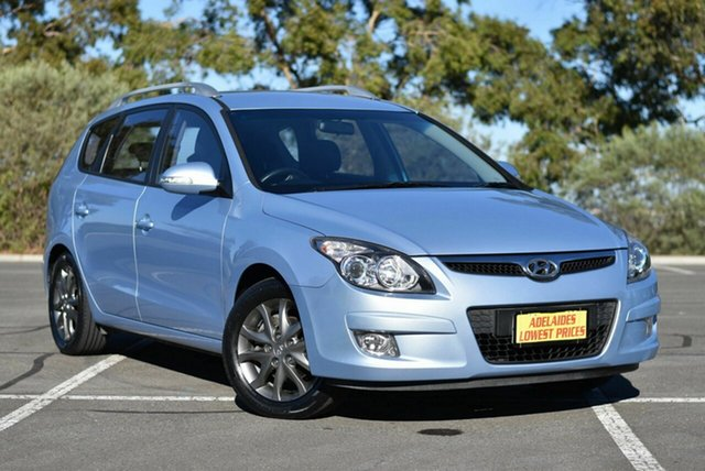 Used Hyundai i30 FD MY11 SLX cw Wagon Enfield, 2012 Hyundai i30 FD MY11 SLX cw Wagon Blue 4 Speed Automatic Wagon