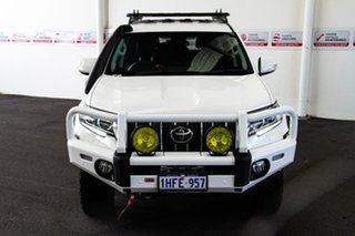 2019 Toyota Landcruiser Prado GDJ150R GXL Glacier White 6 Speed Sports Automatic Wagon.