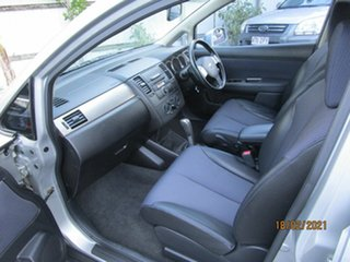 2006 Nissan Tiida C11 Q Silver 4 Speed Automatic Hatchback