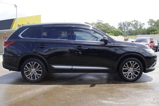 2016 Mitsubishi Outlander ZK MY16 LS 2WD Black 5 Speed Manual Wagon.