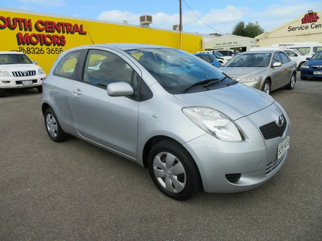 Used Toyota Yaris NCP90R 08 Upgrade YR Morphett Vale, 2008 Toyota Yaris NCP90R 08 Upgrade YR Silver 5 Speed Manual Hatchback