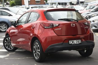 2014 Mazda 2 DJ2HAA Genki Red 6 Speed Sports Automatic Hatchback.